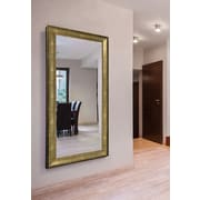 17 Stories Lustrous Rectangle Wall Mirror; 71'' H X 36'' W