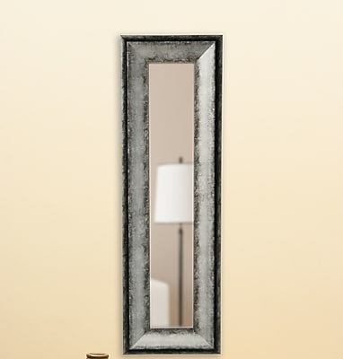 17 Stories Rectangle Panel Mirror; 40.5'' H x 16.5'' W x 1.13'' D