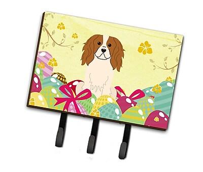 The Holiday Aisle Easter Eggs Cavalier Spaniel Leash or Key Holder