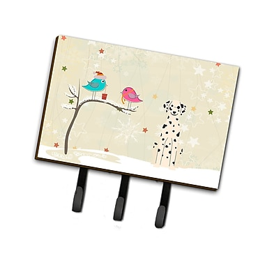 The Holiday Aisle Christmas Presents Between Friends Dalmatian Leash or Key Holder