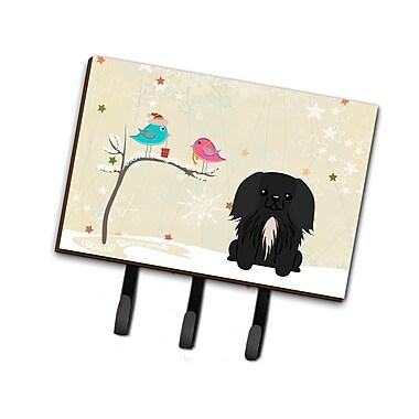 The Holiday Aisle Christmas Presents Between Friends Pekingese Leash or Key Holder