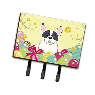 The Holiday Aisle Easter Eggs 3 Hooks French Bulldog Leash or Key Holder