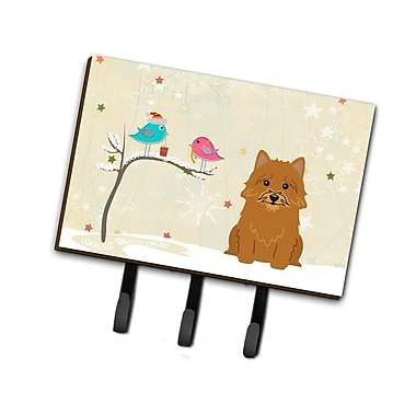 The Holiday Aisle Christmas Presents Between Friends Norwich Terrier Leash or Key Holder