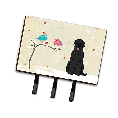 The Holiday Aisle Christmas Russian Terrier Leash or Key Holder