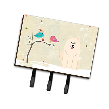 The Holiday Aisle Christmas Samoyed Leash or Key Holder