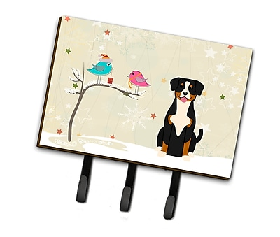 The Holiday Aisle Christmas Presents Between Friends Entlebucher Leash or Key Holder