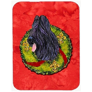 The Holiday Aisle Briard Glass Cutting Board