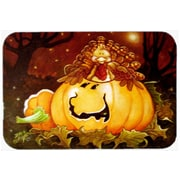 The Holiday Aisle Somebody to Love Pumpkin Halloween Glass Cutting Board