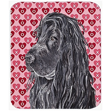The Holiday Aisle English Cocker Spaniel Valentine's Love Glass Cutting Board