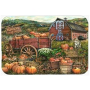 The Holiday Aisle Pumpkin Patch and Fall Farm Glass Cutting Board
