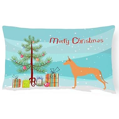 The Holiday Aisle Pharaoh Hound Indoor/Outdoor Lumbar Pillow