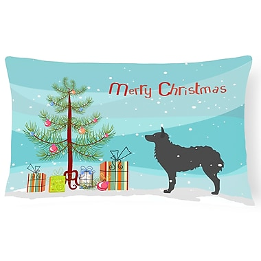 The Holiday Aisle Croatian Sheepdog Indoor/Outdoor Lumbar Pillow