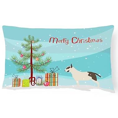 The Holiday Aisle Bull Terrier Indoor/Outdoor Lumbar Pillow
