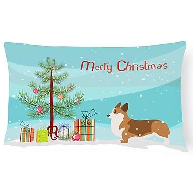 The Holiday Aisle Corgi Indoor/Outdoor Lumbar Pillow