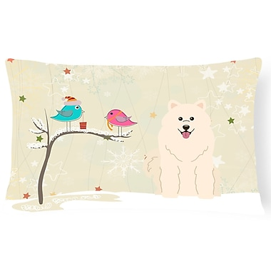 The Holiday Aisle Christmas Modern & Contemporary Solid Pattern Indoor/Outdoor Lumbar Pillow