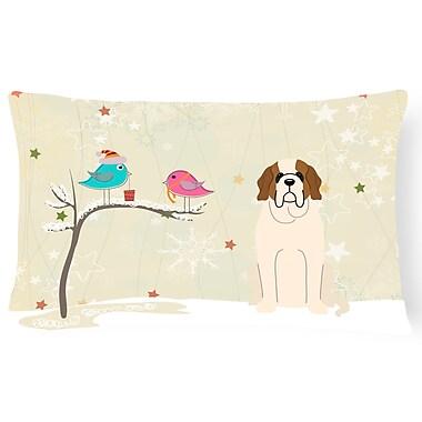 The Holiday Aisle Christmas Modern & Contemporary Fabric Indoor/Outdoor Lumbar Pillow
