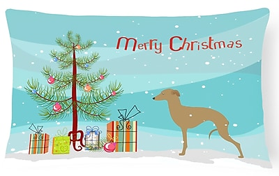 The Holiday Aisle Italian Greyhound Indoor/Outdoor Lumbar Pillow