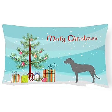The Holiday Aisle Irish Wolfhound Indoor/Outdoor Lumbar Pillow