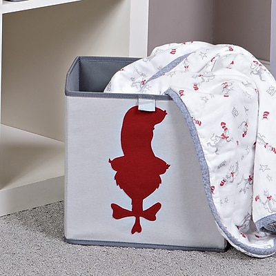 Trend Lab Dr. Seuss Cat in the Hat Fabric Storage Bin