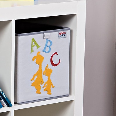 Trend Lab Dr. Seuss ABC Fabric Storage Bin