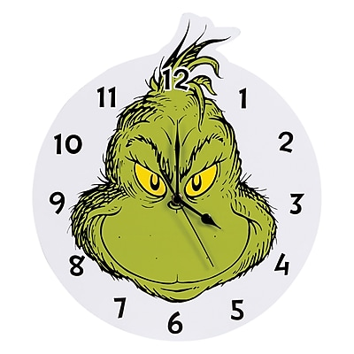 Trend Lab Dr. Seuss The Grinch 13.13'''' Wall Clock