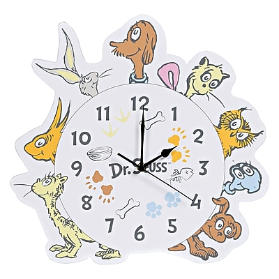 Trend Lab Dr. Seuss What Pet Should I Get Wall Clock