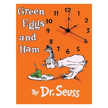 Trend Lab Dr. Seuss Eggs and Ham Wall Clock