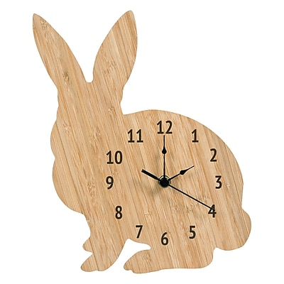 Trend Lab Bamboo Bunny Wall Clock