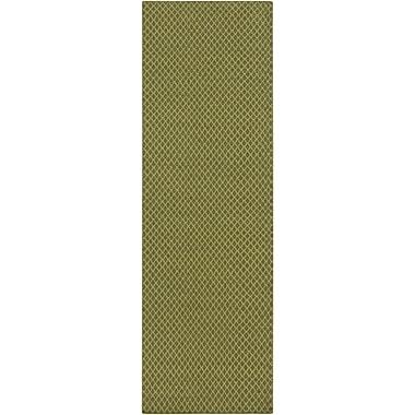 Union Rustic Walton Lime/Olive Area Rug; 2' x 3'