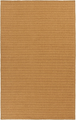 Union Rustic Walton Gold Handwoven Area Rug; 8' x 11'