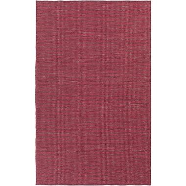 Union Rustic Walton Burgundy/Cherry Area Rug; 8' x 11'