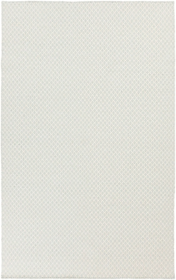 Union Rustic Walton Ivory/Sky Blue Area Rug; 3'3'' x 5'3''