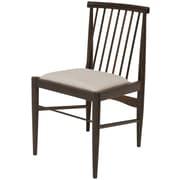 Union Rustic Canterbury Side Chair; Seared Oak