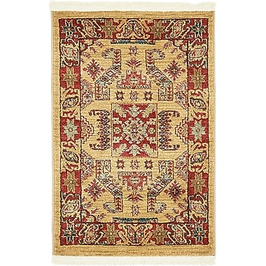 World Menagerie Valley Beige Area Rug; 10'6'' x 16'5''