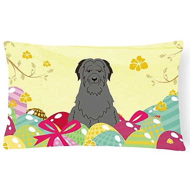 The Holiday Aisle Easter Eggs Briard Rectangle Lumbar Pillow
