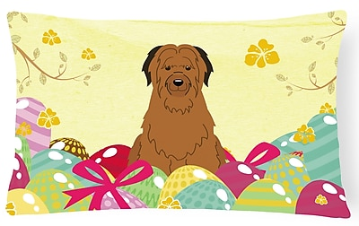 The Holiday Aisle Easter Eggs Briard Lumbar Pillow