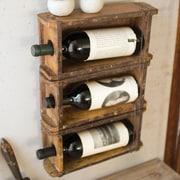 Williston Forge Montclair Brick Mold Wall Mounted Wine Bottle Rack