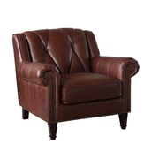 Williston Forge Lucas Leather Club Chair