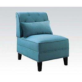 Winston Porter Carrie Slipper Chair; Cream