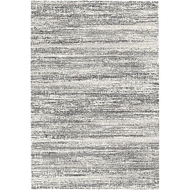 Williston Forge Brycen Black / White Area Rug; 7'10'' x 11'2''