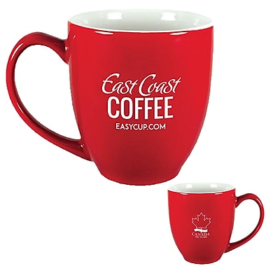 East Coast Coffee - Tasse en céramique édition limitée Canada 150, 16 oz (ECC150MUG)