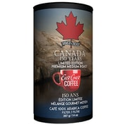 East Coast Coffee Canada 150 Limited Edition Can Medium Roast Ground Coffee, 100% Arabica, 397g (ECC150CAN)