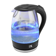 Kalorik Glass Water Kettle with Blue LED lights