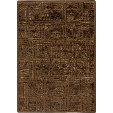 Orren Ellis Harlan Chocolate Area Rug; 2' x 3'