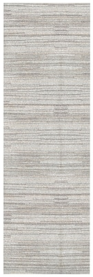 Orren Ellis Alica Beige Stripe Area Rug; Runner 2'6'' x 8'