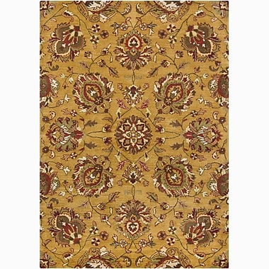 Darby Home Co Bartz Gold/Yellow Area Rug; 5' x 7