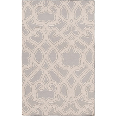 Darby Home Co LaGrange Gray Area Rug; 3'3'' x 5'3''