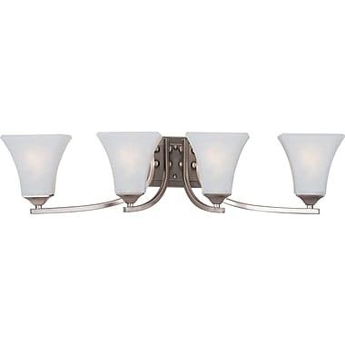 Alcott Hill Pearson 4-Light Vanity Light; Satin Nickel