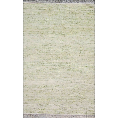 Ivy Bronx Duquette Ivory/Olive Area Rug; 2' x 3'