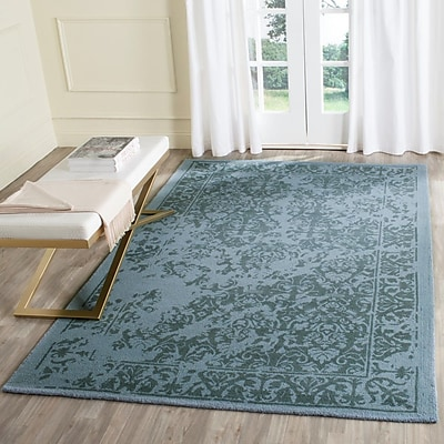 Ophelia & Co. Ellicottville Hand-Tufted Blue Area Rug; 3' x 5'
